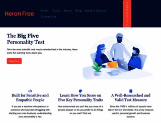 heronfree.com screenshot