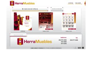 herramuebles.com.mx screenshot