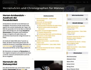 herrenuhren24.net screenshot