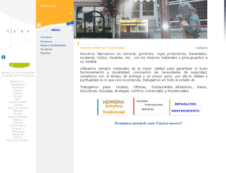 herreria.grupo-mexico.net screenshot