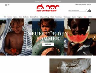 herrundfrauklein.com screenshot