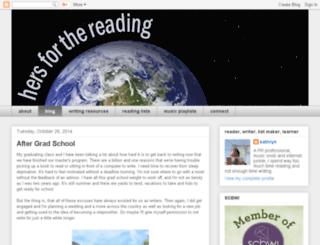 hersforthereading.com screenshot