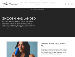 hershesons.com screenshot