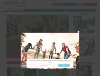hershey.macaronikid.com screenshot