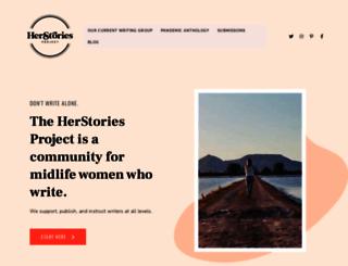 herstoriesproject.com screenshot