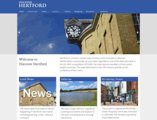 hertford.net screenshot