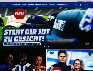 herthashop.de screenshot