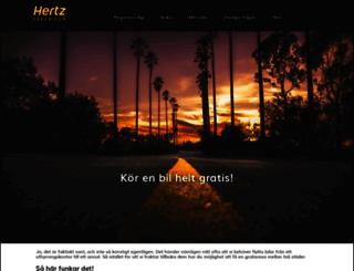 hertzfreerider.se screenshot