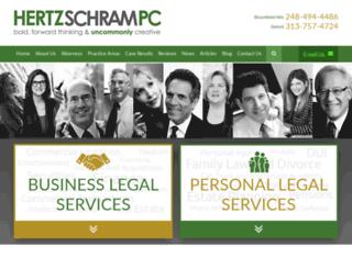 hertzschram.firmsitepreview.com screenshot