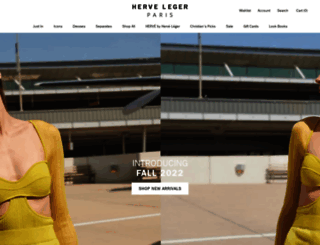 herveleger.com screenshot