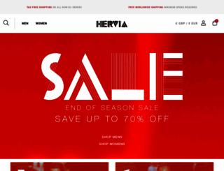 hervia.com screenshot