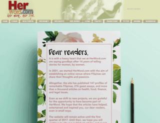 herword.com screenshot