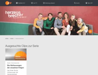 herzensbrecher.zdf.de screenshot