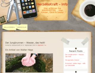herzenskraft.info screenshot