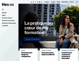 hes-so.ch screenshot