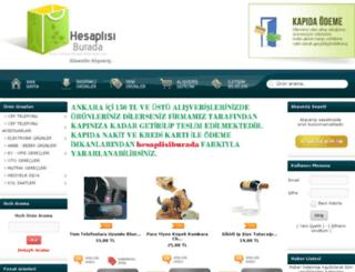 hesaplisiburada.com screenshot