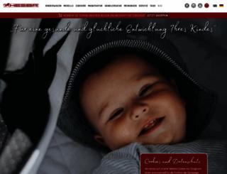 hesba-kinderwagenfabrik.com screenshot