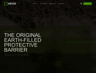 hesco.com screenshot