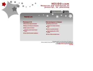 hesido.com screenshot