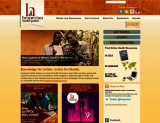 hesperian.org screenshot