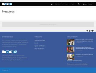 hespress.org screenshot