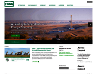 hess.com screenshot