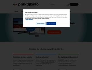 hessedok.praktijkinfo.nl screenshot