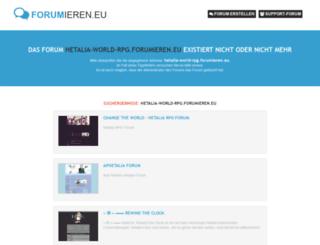 hetalia-world-rpg.forumieren.eu screenshot