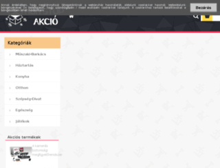 hetiakcio.com screenshot