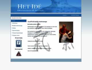 hetide.nl screenshot