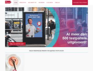 hettestpanel.nl screenshot