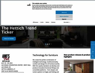 hettich.com screenshot