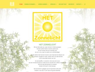 hetzonnelicht.nl screenshot