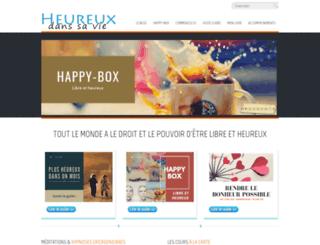 heureux-dans-sa-vie.com screenshot