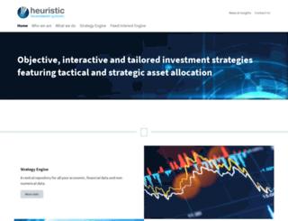heuristic.com.au screenshot