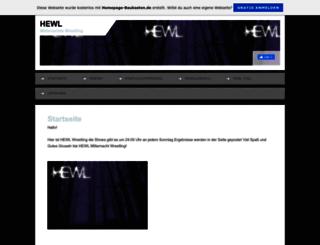 hewlwrestling.de.tl screenshot