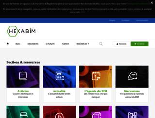 hexabim.com screenshot