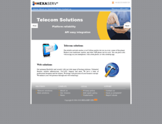 hexaserv.com screenshot