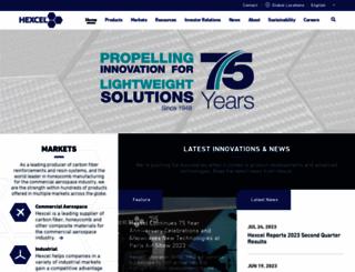 hexcel.com screenshot