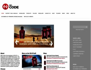 hexcode.co.za screenshot