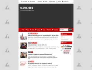 hexho-zord.blogspot.com screenshot