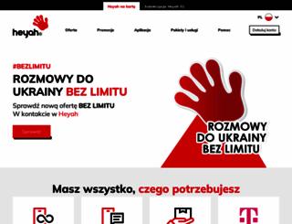 heyah.pl screenshot