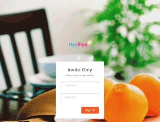 heyblog.com screenshot