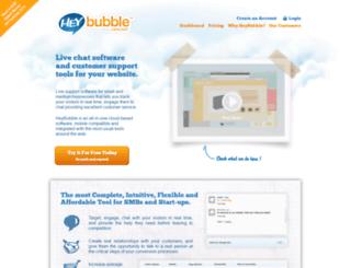 heybubble.com screenshot