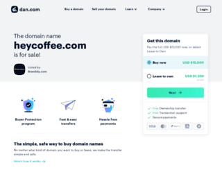 heycoffee.com screenshot
