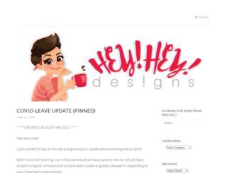 heyheydesigns.com screenshot