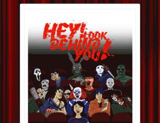 heylookbehindyou.com screenshot