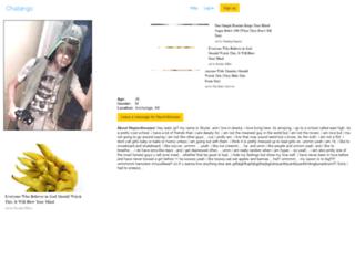 heymrdinosaur.chatango.com screenshot