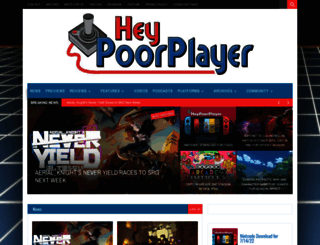 heypoorplayer.com screenshot