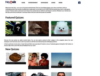 heyquiz.com screenshot